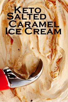 Keto salted caramel ice cream Keto salted caramel ice cream Source by Low Carb Sweets, Low Carb Desserts, Low Carb Recipes, Cooking Recipes, Frozen Desserts, Keto Eis, Helado Keto, Pecan Desserts, Keto Friendly Ice Cream