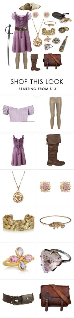 """Pirate Punzie"" by daughter-of-apollo92 ❤ liked on Polyvore featuring WearAll, Vince, Billabong, Alkemie, Aurélie Bidermann, DOMINIQUE LUCAS, Marie Hélène de Taillac, Forever 21, S.W.O.R.D. and Ultimate"