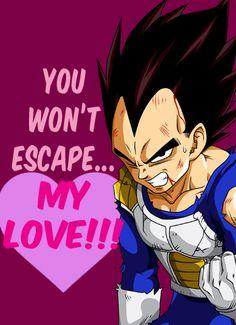 DBZ Vegeta Valentine
