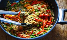 If you are craving something different that is light and bursting with rich flavor you should try this noodle recipe. It's absolutely delicious.