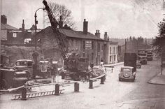 Blackburn road Astley bridge 1953.