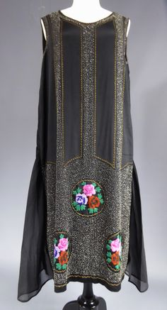 Jean Patou Evening dress, 1925-1927.