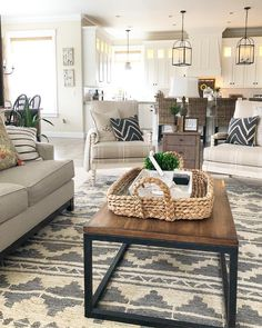 33 Wonderful Elegant Modern Farmhouse Living Room Decor Ideas And Makeover. If you are looking for Elegant Modern Farmhouse Living Room Decor Ideas And Makeover, You come to the right place. Farmhouse Living Room Furniture, Living Room Interior, Home Furniture, Farmhouse Decor, Modern Furniture, Furniture Design, Furniture Ideas, Farmhouse Ideas, Country Farmhouse