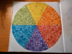 Finished: 22. 1. 2016; Source: Secret Garden; Medium: Maped Color'Peps; FB challenge no. 21 - to colour in blocks