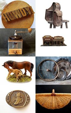Farmhouse Cowboy Chic Celebrates American Pioneer Spirit by Laura on Etsy--Pinned with TreasuryPin.com