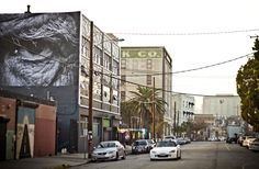 'wrinkles of the city' in los angeles by french street artist JR