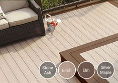 Our decking comes in so many gorgeous shades, it's incredibly easy to find one that's right for your outdoor space     #timbertechuk #timbertech #compositedecking #decking #design #DIY #home #garden #outdoor #flooring #homedecor