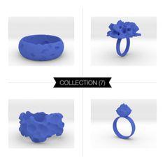 Intergalactic Blue #3Dprint #3Dprintedjewelry #melinablazevicstudio #shapeways #3Dprinting #jewelry #intergalactic #exoplanets #iterativedesign #generativedesign #parametricdesign #design #productdesign #mesh #meshpattern #wireframe #fashion #fashiondesign