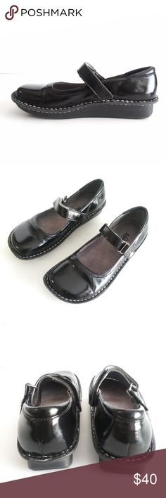 753fac60ac5a1b Alegria Women s Bel-101 Black Patent Leather Mary · Condition  Gently used  with some