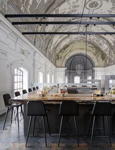 08/10/2015 - Si è appena aggiudicato il Premio assoluto dei Restaurant&Bar Design Awards 2015. Si tratta del ristorante The Jane ad Anversa