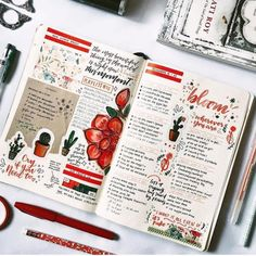 Top 10 Red Bullet Journal Spreads from this week! Top 10 Red Bullet Journal Spreads from this Week! Bullet Journal Spreads, Digital Bullet Journal, Bullet Journal Notes, Bullet Journal Aesthetic, Bullet Journal Writing, Bullet Journal Ideas Pages, Bullet Journal Inspiration, Journal Pages, Journal Notebook
