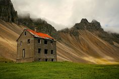 Eerily Beautiful Photos Of Abandoned Iceland Derelict Places, Abandoned Places, Old Buildings, Abandoned Buildings, Beautiful Ruins, Beautiful Places, Places Around The World, Around The Worlds, Historical Architecture