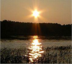 sunset star of david