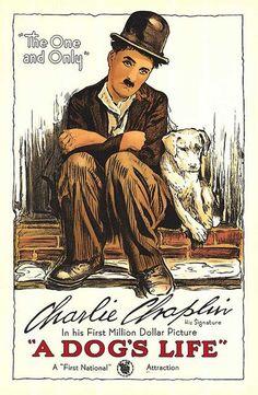 Vida de perro (A Dog's Life) 1918 (Charles Chaplin) [Ver + Descargar] [480p] [Comedia]