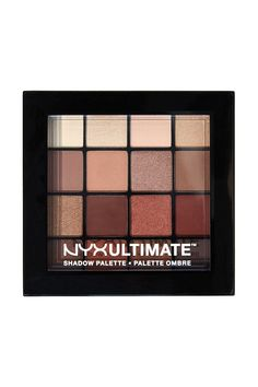 We get it—brown eyeshadow can lookblah. Butthis 16-shade palettehas a mix of shimmery, iridescent, and matte shadows,giving you a finish that'sanything but flat.NYX Ultimate Shadow Palette in Warm Neutrals, $17.99BUY IT: target.com. Makeup To Buy, Drugstore Makeup, Makeup Brands, Love Makeup, Beauty Makeup, Makeup Products, Maybelline Makeup, Amazing Makeup, Makeup Set