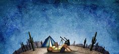 This week's #summerreading art takes us to a beautiful desert. Here's to wonderful reads under the stars! http://bit.ly/14SRC