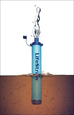 LifeStraw Personal Water Filter- Filters up to 1000 liters of contaminated water - For the Bug Out Bag Camping Survival, Survival Prepping, Emergency Preparedness, Survival Skills, Survival Gear, Emergency Planning, Emergency Supplies, Camping Water Filter, Portable Water Filter