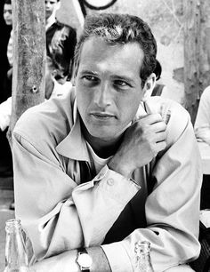 """Paul Newman during the filming of """"Exodus"""", 1959 ~ Photo by Leo Fuchs Jean Simmons, Joan Collins, Steve Mcqueen, Vintage Hollywood, Classic Hollywood, Hollywood Men, Hollywood Icons, Hollywood Stars, Thousand Yard Stare"""