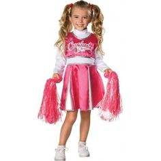 Déguisement cheerleader fille, déguisements enfant, carnaval, danse, pom pom, danse, anniversaire