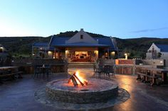 Botlierskop offers luxury safari lodges, villas and game drives. Located on a Private Game Reserve within the scenic Garden Route South Africa. Outdoor Fire, Outdoor Living, Outdoor Decor, Private Games, Farm Cottage, Farm Stay, Desert Homes, Hotel Reservations, Home Upgrades