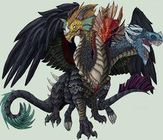 NWD Dragon of Chaos by Lordka18 on DeviantArt