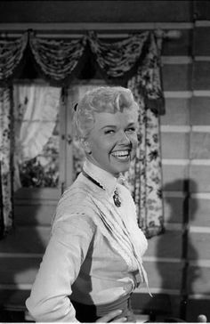 Doris Day as Calamity Jane. I love this movie. She has such... She is simply a BAD ASS!