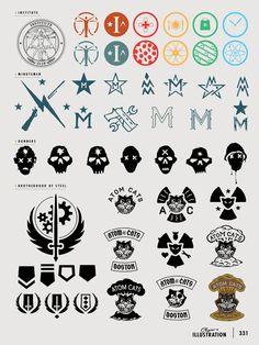 Fallout logos