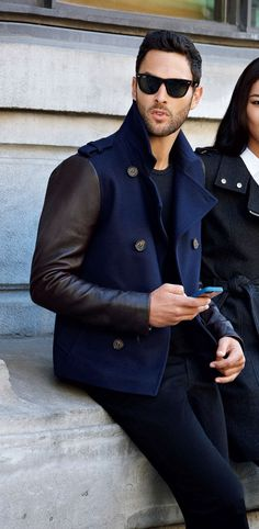 Men's Jackets For Every Occasion. Photo by Menswear Market Jackets are a must-have in the cold weather but it can also be used to accessorize an outfit. Sharp Dressed Man, Well Dressed Men, Mens Fashion Blog, Fashion Moda, Look Fashion, Fashion Ideas, Fashion Outfits, Fashion Fashion, Mode Masculine