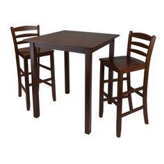 Parkland 3 Piece Pub Table Set