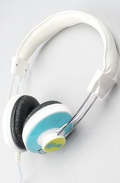 The RT-HZ14 Headphones in Turquoise by Spitfire   Karmaloop.com - Global Concrete Culture - StyleSays