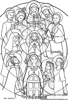 Christ Pantocrator Hagia Sophia Icon Catholic Faith And Fun Saint Peter Coloring Pages All Saints Page