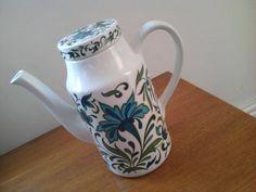 Retro coffee pot by Jessie Tait Midwinter Pottery  by Oldyworldy, £17.00