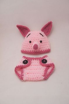 Piglet - food for thought!  (NO I'm not going to eat him, I'm going to see if I can make it myself, sans the diaper thingy.)