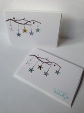 Again - Christmas Cards - beautiful . - Petra Homepage - Tardisblau: Again – Christmas Cards – -Tardisblau: Again - Christmas Cards - beautiful . - Petra Homepage - Tardisblau: Again – Christmas Cards – - Watercolor Christmas Cards, Christmas Card Crafts, Homemade Christmas Cards, Christmas Art, Homemade Cards, Handmade Christmas, Holiday Cards, Chrismas Cards, Cute Christmas Cards