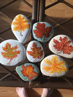 ✓ Best Painted Rocks Ideas, Weapon to Wreck Your Boring Time [Images] Autumn Painting, Pebble Painting, Painting For Kids, Pebble Art, Stone Painting, Stone Crafts, Rock Crafts, Fall Crafts, Crafts For Kids