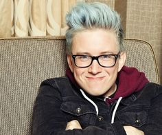 Tyler Oakley On Binge Book, Break Ups  Butt Holes | Out Magazine - anyone else think he looks like a lesbian here???