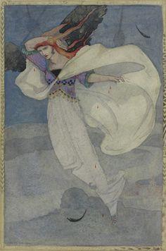 Cecile Walton (1891-1956) - The travelling companion