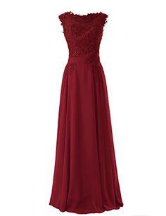 Diyouth Scoop Appliques Long Chiffon Prom Dress Burgundy Size 2 Diyouth http://www.amazon.com/dp/B00LQMS31E/ref=cm_sw_r_pi_dp_WLGmub15A9Z33