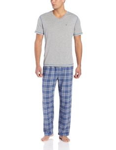Mens Pajama  - Pin it :-) Follow us .. CLICK IMAGE TWICE for our BEST PRICING ... SEE A LARGER SELECTION of Mens Pajamas at        http://azgiftideas.com/product-category/mens-pajamas/ - men, gift ideas, mens wear - Nautica Men's Boxed Pajama Set « AZ Gift Ideas