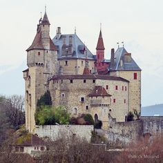 Menthon Saint Bernard castle | Photographic Print