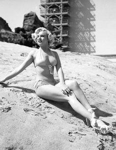 Marilyn Monroe plage