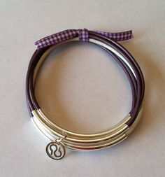 Show your support in style!    Leather bangles for Walk to End Alzheimer's. $15.00, via Etsy.