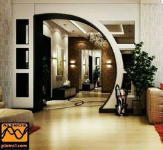 Top 100 arch designs for living room - latest pop arches ideas 2020 Modern Houses Interior, Bedroom False Ceiling Design, House Ceiling Design, House Interior, Room Door Design, Arch Designs For Hall, Living Room Design Modern, Beautiful Living Rooms Decor, Living Design