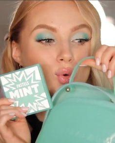 Mint Makeup, Pastel Mint, Beauty, Instagram, Makeup Tutorials, Makeup Step By Step, How To Make Up, Beauty Illustration