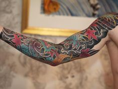 Inside of the arm