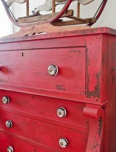 1000+ images about Kitchen - Distressed red on Pinterest ...