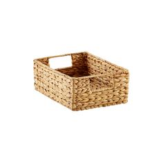 X-Small Water Hyacinth Bin Natural (The Container Store)
