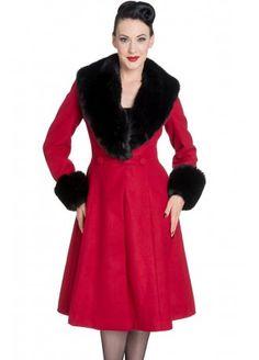 Hell Bunny Shonna Coat | Attitude Clothing