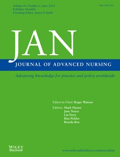 Публикации в журналах, наукометрической базы Scopus  Journal of Advanced Nursing  #Advanced #Nursing #Journals #публикация, #журнал, #публикациявжурнале #globalpublication #publication #статья