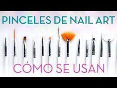 NAILISTAS nos enseña cómo usar cada pincel de nail art y cómo debemos limpiarlos